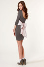 Heather-gray-lulus-dress