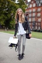jacket - boots - bag