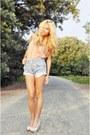 Vintage-levis-shorts-topshop-top-bershka-heels