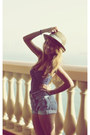 Pull-bear-hat-vintage-levis-shorts