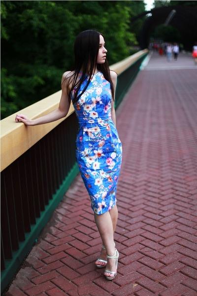 Zara shoes - blue Zara dress