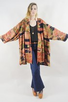 burnt orange Lush Love Lita blazer