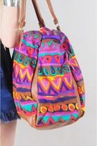 Magenta Weekender Bag Vintage Purses