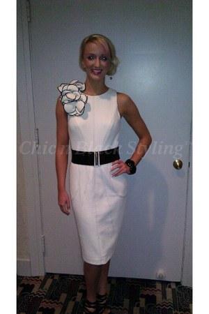 white Envy Boutique dress