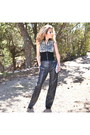 Heather-gray-leather-pants-diesel-pants