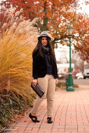 The Limited sweater - Urban Outfitters blazer - G by Guess flats - TJMaxx pants