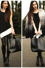 Black-sugar-lips-apparel-dress-heather-gray-select-coat