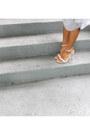 Silver-express-top-silver-express-skirt-white-zara-heels