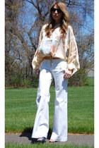 APARTstylecom shirt - Gap pants - Steve Madden sandals