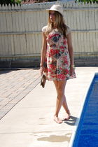 Florals and Frolicking Poolside