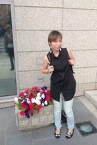 silver calvin klein jeans - black Cheap Monday blouse