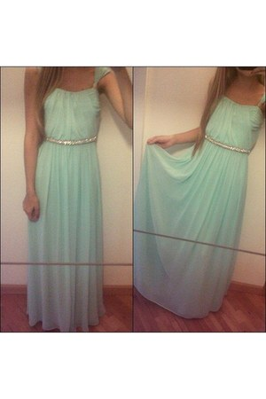 aquamarine unknown brand dress