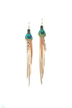 penny lane MACAW earrings