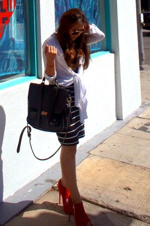 bolton bag - Charlotte Russe heels - Forever 21 skirt