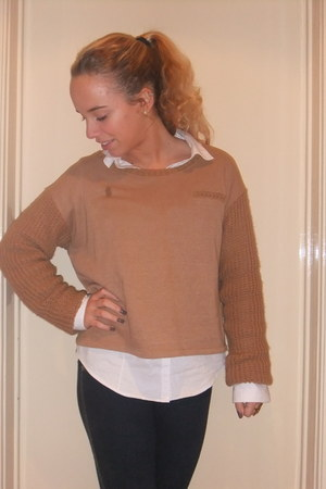 Zara shoes - Primark jeans - H&M blouse - Zara jumper
