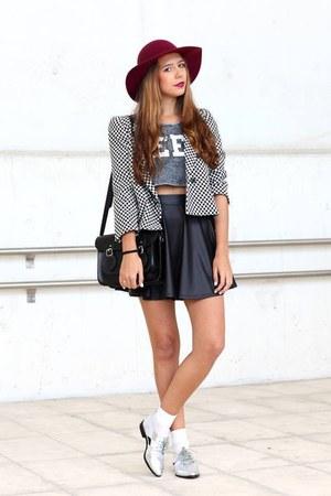 Zara hat - Zara blazer