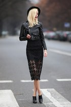 black AX Paris skirt