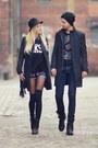 Black-sheinside-coat-black-sheinside-jumper