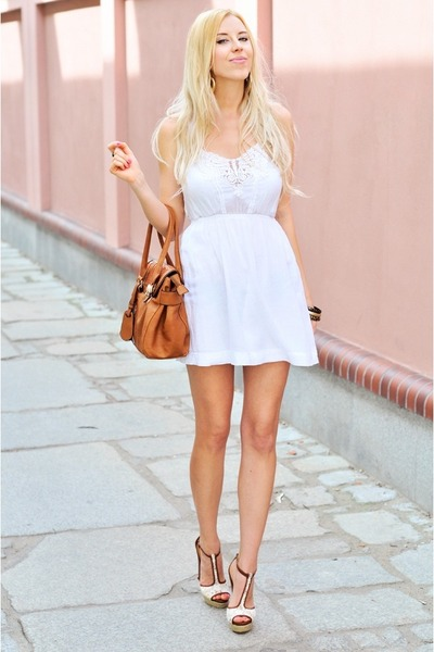 White Dress And Heels | Fs Heel