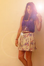 Urban-outfitters-skirt-vintage-belt