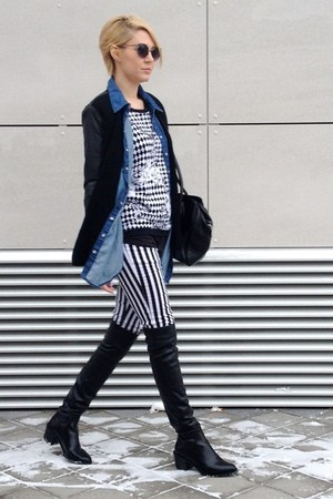 Zara boots - New Yorker jacket - New Yorker shirt - Zara sunglasses