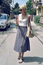 SIX necklace - legend bag - Zara sunglasses - Jessi Girl sandals