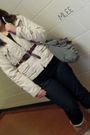 Majora-coat-joe-fresh-belt-joe-fresh-jeans-american-eagle-purse
