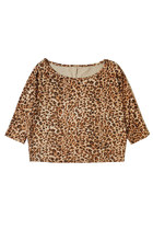 Chic Cheetah Cropped Top