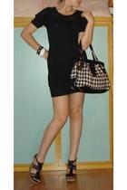 street market dress - GoJane shoes - Accessoriz purse - George bracelet - street