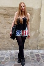ash reverso bis ASH boots - Topshop shorts