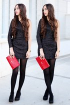 AX Paris dress - Bershka shoes - Misako bag