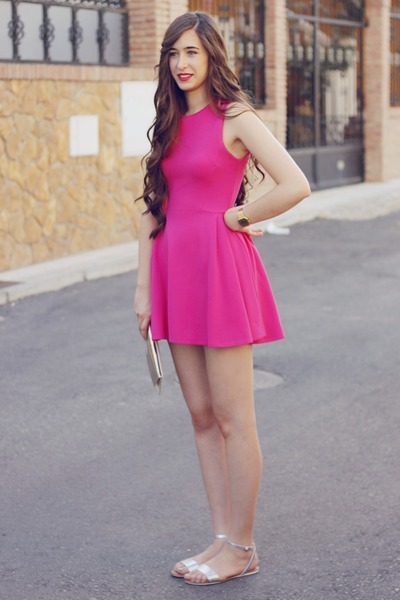 Hot Pink Zara Dresses BLANCO Bags Oysho Sandals  &quotTouch of Pink ...
