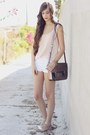 Misako-bag-zara-shorts-oysho-sandals-pull-bear-blouse