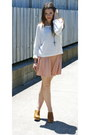 Glassons-jumper-garage-skirt-rubi-clogs-cross-bling-necklace