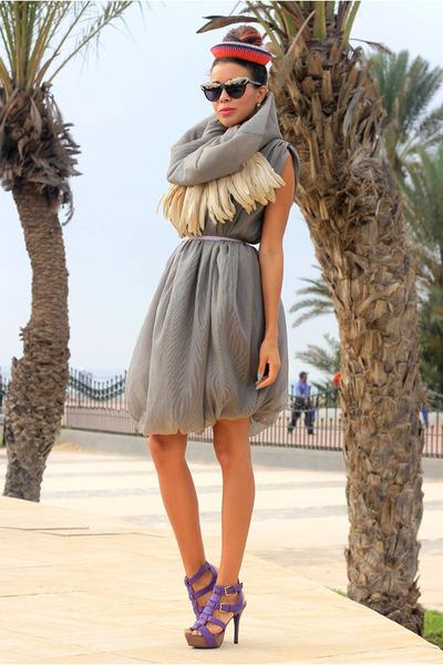 Grome Design dress - Anna Dello Russo for H&M sunglasses
