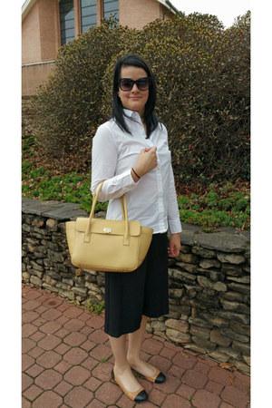 black culotte asoscom pants - Tiffany and Co bag