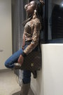 Guess-sweater-bulhafi-boots-american-apparel-jeans-louis-vuitton-bag