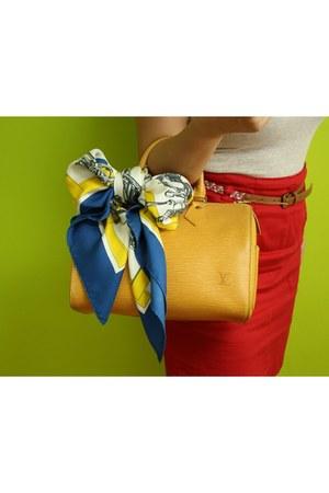 epi leather Louis Vuitton bag