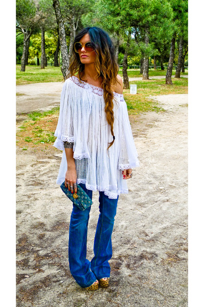 Louis Vuitton purse - Takasami dress - Miss Selfridige jeans