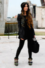 Manoush-jacket-loewe-bag-urban-outfitters-pants