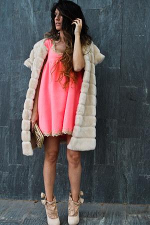 Zara coat - Manoush dress