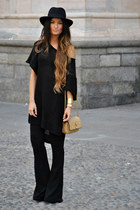 H&M dress - Marc Jacobs bag - H&M pants