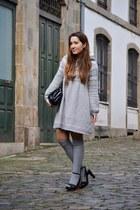 Zara dress - Zara bag - Stradivarius sandals