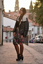 Zara skirt - H&M jacket - Lefties wedges