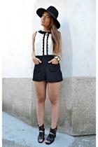 Primark bodysuit - Bershka heels