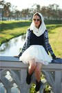 White-envancl-skirt