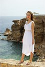 White-fashionique-dress