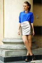 blue envancl shirt