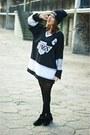 Black-modekungen-hoodie