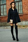 Black-calvin-klein-coat
